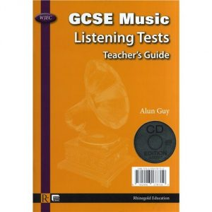 Alun Guy: WJEC GCSE Music Listening Tests - Teacher's Guide/CD (English/Welsh)