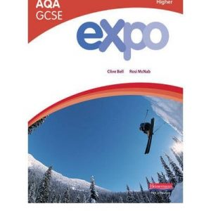 [( Expo AQA GCSE French Higher Student Book )] [by: Clive Bell] [Mar-2009]