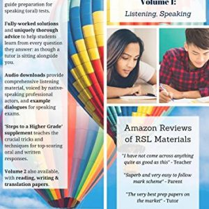 GCSE Spanish by RSL, Volume 1: Listening, Speaking (9-1) - Practice Papers With Full Solutions for GCSE & IGCSE (All Exam Boards)
