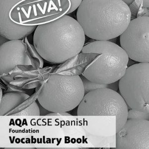 !Viva! AQA GCSE Spanish Foundation Vocabulary Book (pack of 8)