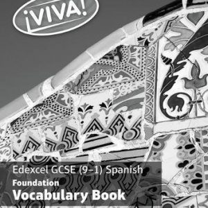 !Viva! Edexcel GCSE Spanish Foundation Vocabulary Book (pack of 8)
