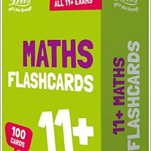 11+ Maths Flashcards (Letts 11+ Success)