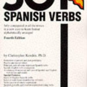 501 Spanish Verbs (Barrons)