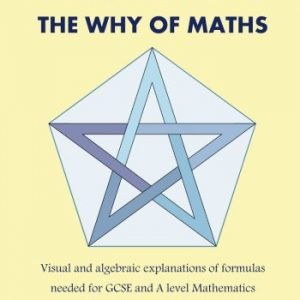 100% PROOF!  The Why Of Maths: Visual and algebraic explanations of formulas needed for GCSE and A level Mathematics( Black and White )