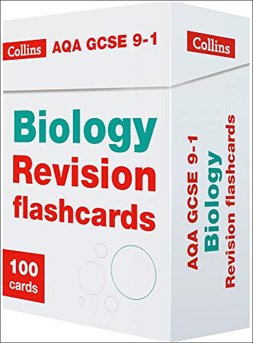 AQA GCSE 9-1 Biology Revision Cards: For the 2020 Autumn & 2021 Summer Exams (Collins GCSE Grade 9-1 Revision)