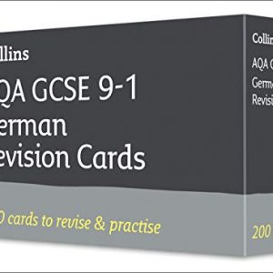 AQA GCSE 9-1 German Vocabulary Revision Cards: For the 2020 Autumn & 2021 Summer Exams (Collins GCSE Grade 9-1 Revision)