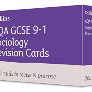 AQA GCSE 9-1 Sociology Revision Cards: For the 2020 Autumn & 2021 Summer Exams (Collins GCSE Grade 9-1 Revision)