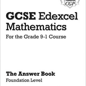 GCSE Maths Edexcel Answers for Workbook: Foundation - for the Grade 9-1 Course (CGP GCSE Maths 9-1 Revision)