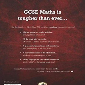 GCSE Maths Edexcel Revision Guide: Higher - for the Grade 9-1 Course (with Online Edition) (CGP GCSE Maths 9-1 Revision)