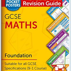 GCSE Maths (Foundation) | Pocket Posters: The Pocket-Sized Maths Revision Guide | GCSE Specification | FREE digital edition for computers, phones and tablets with over 1,000 assessment questions!