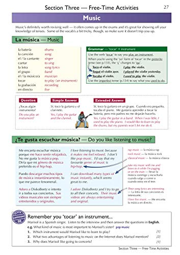 GCSE Spanish AQA Complete Revision & Practice (with CD & Online Edition) - Grade 9-1 Course (CGP GCSE Spanish 9-1 Revision)