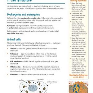 Grade 9-1 GCSE Biology for AQA: Student Book with Online Edition (CGP GCSE Biology 9-1 Revision)