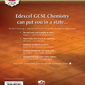 Grade 9-1 GCSE Chemistry for Edexcel: Student Book with Online Edition (CGP GCSE Chemistry 9-1 Revision)