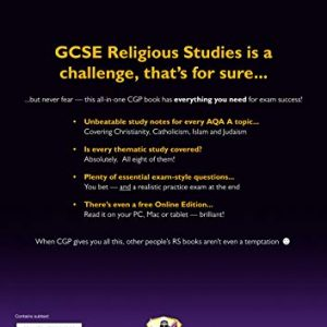 Grade 9-1 GCSE Religious Studies: AQA A Complete Revision & Practice with Online Edition (CGP GCSE RS 9-1 Revision)