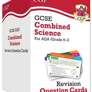 New 9-1 GCSE Combined Science AQA Revision Question Cards: All-in-one Biology, Chemistry & Physics (CGP GCSE Combined Science 9-1 Revision)