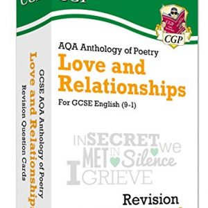 New 9-1 GCSE English: AQA Love & Relationships Poetry Anthology - Revision Question Cards (CGP GCSE English 9-1 Revision)