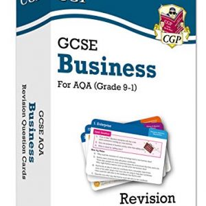 New Grade 9-1 GCSE Business AQA Revision Question Cards (CGP GCSE Business 9-1 Revision)