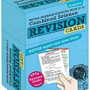 Revise Edexcel GCSE (9-1) Combined Science Foundation Revision Cards: with free online Revision Guide (Revise Edexcel GCSE Science 16)