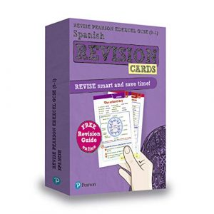 Revise Pearson Edexcel GCSE (9-1) Spanish Revision Cards: includes free online edition of revision guide (Revise Edexcel GCSE Modern Languages 16)