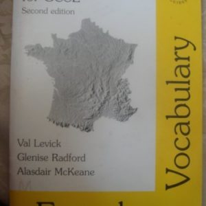 Your Malvern Guide for GCSE: French Vocabulary (Malvern language guides) by Val Levick (2001-10-01)