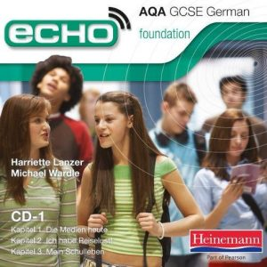 A Echo GCSE AQA Foundation German Audio CD