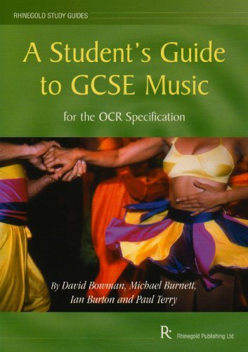 A Student's Guide to GCSE Music: for the OCR Specification (Rhinegold study guides) by David Bowman (2002-11-01)