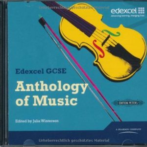 Edexcel GCSE Music Anthology CD by unknown (2009) Audio CD