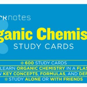 Organic Chemistry (Sparknotes Study Cards)