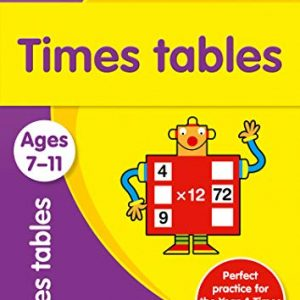 Times Tables Ages 7-11: Prepare for school with easy home learning (Collins Easy Learning KS2)