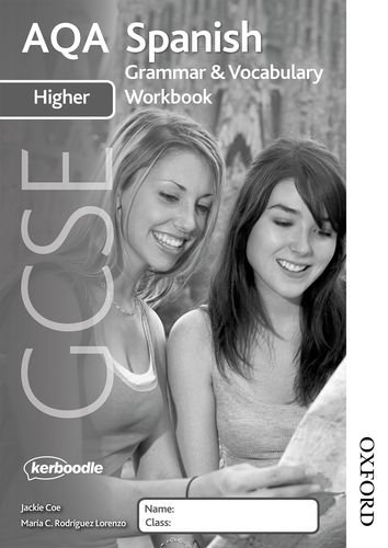 AQA GCSE Spanish Higher Grammar and Vocabulary Workbook Pack (x8) (X8 Pack)