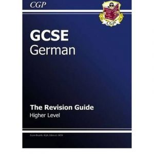 [ GCSE GERMAN REVISION GUIDE - HIGHER ] By Parsons, Richard ( AUTHOR ) Sep-2009[ Paperback ]