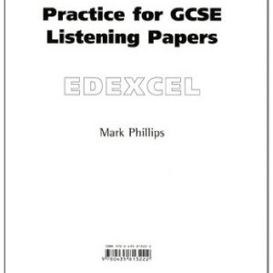 Practice for Edexcel GCSE Music Listening Paper 8pk (Practice for GCSE Music Listening Papers)