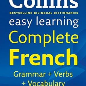 Easy Learning Complete French Grammar, Verbs and Vocabulary (3 books in 1) (Collins Easy Learning French): 01