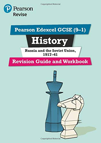 Pearson Edexcel GCSE (9-1) History Russia and the Soviet Union, 1917-41 Revision Guide and Workbook: Catch-up and revise (Revise Edexcel GCSE History 16)