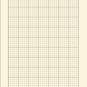 A4 Engineering Computation Pad: 100 Pages / 50 Sheets , 8.27 x 11.69 Inches | Blank A4 Computational Notepad | 5mm Grid Ruled Graph Paper | 5mm Quad ... Architects, and Students| 80gsm Cream Paper