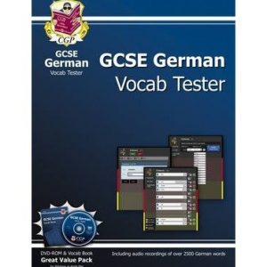 [(GCSE German Interactive Vocab Tester - DVD-ROM and Vocab Book)] [Author: CGP Books] published on (December, 2012)