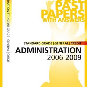 Administration Standard Grade (G/C) SQA Past Papers 2009