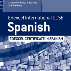 Edexcel International GCSE and Certificate Spanish Grammar Workbook by Judith O'Hare (27-Sep-2013) Paperback
