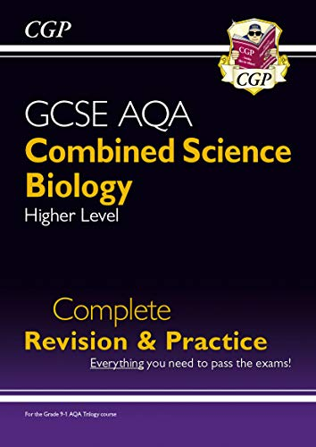 9-1 GCSE Combined Science: Biology AQA Higher Complete Revision & Practice: perfect for home learning and 2021 assessments (CGP GCSE Combined Science 9-1 Revision)