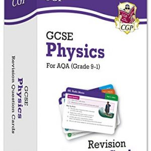 9-1 GCSE Physics AQA Revision Question Cards: perfect for home learning and 2021 assessments (CGP GCSE Physics 9-1 Revision)