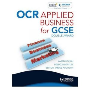 [ OCR APPLIED BUSINESS STUDIES FOR GCSE (DOUBLE AWARD) BY BENTLEY, REBECCA](AUTHOR)PAPERBACK