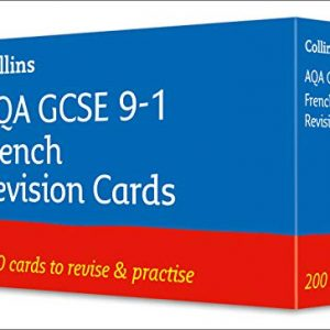AQA GCSE 9-1 French Vocabulary Revision Cards: Ideal for home learning, 2021 assessments and 2022 exams (Collins GCSE Grade 9-1 Revision)
