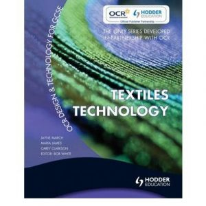 [ OCR DESIGN AND TECHNOLOGY FOR GCSE TEXTILES TECHNOLOGY BY CLARKSON-BROWNLESS, CAREY](AUTHOR)PAPERBACK