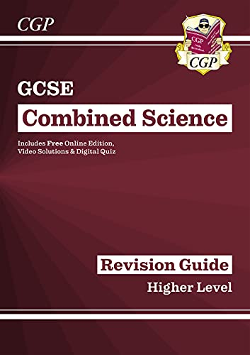 New GCSE Combined Science Revision Guide - Higher includes Online Edition, Videos & Quizzes (CGP GCSE Combined Science 9-1 Revision)
